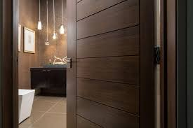 Modern Bathroom Door Las Vegas Modern Home Interior Solid Wood Walnut Door Modern