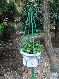 Simple Macrame Plant Hanger - simple macrame plant hanger 4arm green 36 inches fit 8 10
