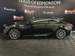 lexus coupe black used 2016 lexus rc 350 2 door car in edmonton ab ld13964a