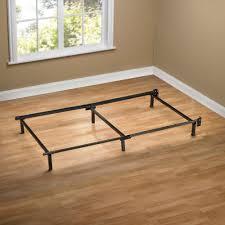 lade wood bedroom wood slat frame homcom size mattress platform