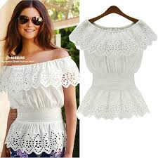 womens cotton blouses 2018 2015 fashion womens clothing cotton blouses collar slash