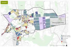 Source  Seoul        Proposed Master Plan for Urban  amp  Residential Redevelopment of Seoul        Urban Redevelopment Sector