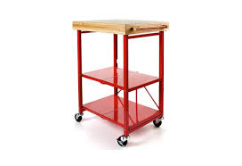 folding kitchen island cart hsn item 191291 origami folding kitchen island cart