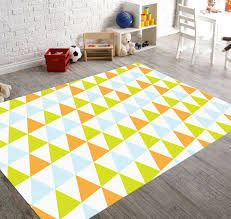 Orange And White Rugs 10 Cheerful Rugs That Will Brighten Up Any Kids Room Contemporist