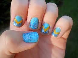toe nail designs light blue fun size beauty born pretty store