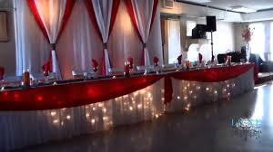 decor red wedding reception decor room design decor top on red