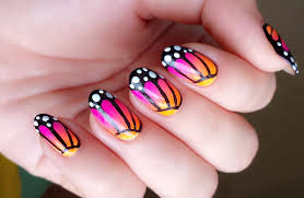 nail art 49 marvelous easy nail art designs for short nails image