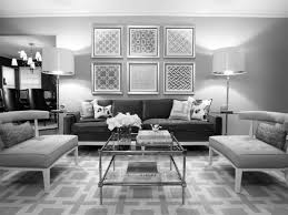 Endearing  White Living Room Furniture Ideas Decorating - White and grey living room design