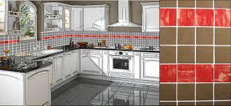 decoration cuisine avec faience faience cuisine avec motif beautiful faience cuisine