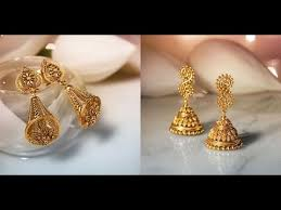 gold earrings images gold earrings designs by tanishq jewellery