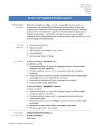 Sample Objectives In Resume For Service Crew by Flight Attendant Sample Resume Tips U0026 Templates Cabin Crew Cover