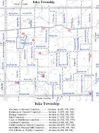 Illinois Map With Counties by Iuka Township Marion County Illinois