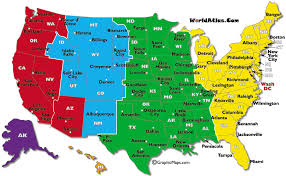 usa time zone map est usa time zones map of america with area codes picture healthy tips