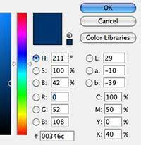 quickly find the cmyk equivalent of a pantone color in photoshop