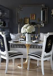 Black And White Dining Room Chairs 97 Best Dining Rooms Images On Pinterest Dining Room Dining