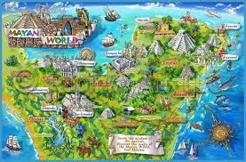 map of mexuco mexico map tourist attractions travelsfinders