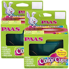 paas easter egg dye paas easter egg color cups coloring kit multipacks 2