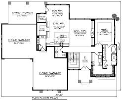 modern style house plan 3 beds 3 50 baths 2950 sq ft plan 70 1284