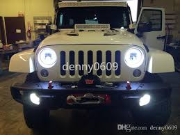 Led Lights For Jeeps 2017 7inch Eagle Lights Jk Jeep Wrangler Round Led Headlight White