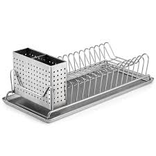 kitchen marvelous compact dish rack design kitchen utensils kitchen marvelous compact dish rack design kitchen utensils organized featured dual compartment can hold up tp 14 plates great buffet server removable