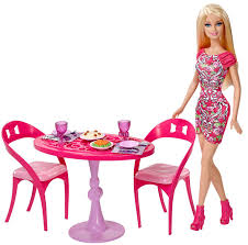 Barbie Dream Furniture Collection by Barbie Dining Room Set Home Design Inspirations