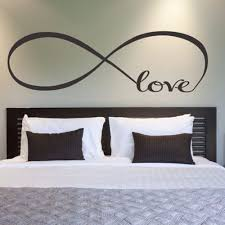compare prices on free word art online shopping buy low price 60x22cm bedroom wall stickers decor infinity symbol word love vinyl art wall sticker decals decoration hym02