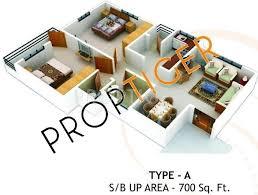 700 sq ft 700 sq ft 2 bhk floor plan image ashoka vrindavan available for