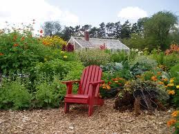 Chair In Garden Children U0027s Garden Offers Something For Everyone Fort Ticonderoga