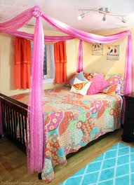Princess Canopy Bed Easy Diy Princess Canopy Bed
