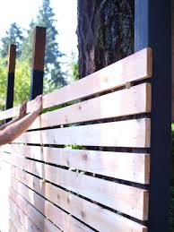 Screen Ideas For Backyard Privacy by Build A Beautiful And Functional Mid Century Modern Fence Heart