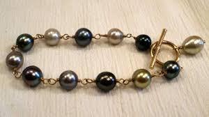 black pearl bracelet images Black pearl jewelry tahitian rings necklaces earrings bracelets jpg