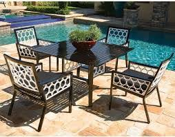 Modern Aluminum Outdoor Furniture by Inspiring Patio Furniture Dining Table Ideas U2013 Square Patio Dining