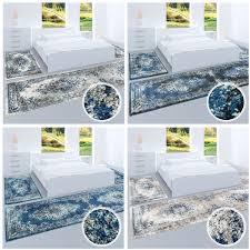 Teppich Schlafzimmer Beige Hochwertiger Bettumrandung Teppich Flachflor Orientalisch
