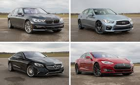 semi autonomous cars compared tesla vs bmw mercedes and
