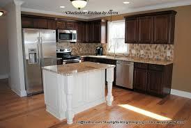 affordable kitchen islands contrasting kitchen island awesome affordable kitchen w maple cabinets contrasting island jpg