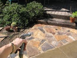 best flagstone patios and walkways images home design interior