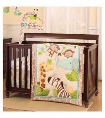 Jungle Nursery Bedding Sets S Jungle Play 4 Crib Bedding Set