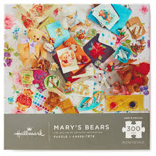 thanksgiving jigsaw puzzle mary u0027s bears mary hamilton 300 piece jigsaw puzzle puzzles