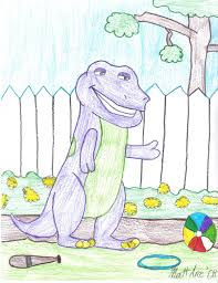 Barney Backyard Show Barney From The Backyard Gang By Crazyass246 On Deviantart