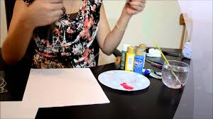 how to write an impression paper thread painting paint with thread youtube