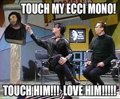 Monkey Jesus Meme - snl sprockets touch my behold the monkey potato jesus know
