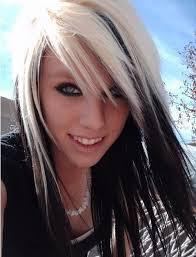 blonde bobbed hair with dark underneath blonde hair with black underneath hairstyles hairstyle for women