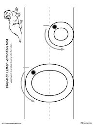 letter o tracing printable worksheet myteachingstation com