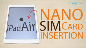 changer de si e air apple air how to change the sim card