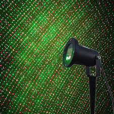 outdoor waterproof elf christmas lights green red laser projector