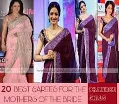 20 best sarees for the mothers of the bride this year 2016