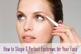 Shaping Eyebrows At Home How To Shape 3 Perfect Eyebrows For Your Face Punica Makeup