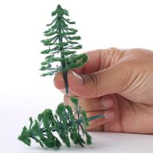 miniature artificial pine trees miniatures