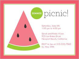 summer picnic 4x5 invitation card invitations shutterfly