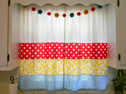 Red Kitchen Curtain by Curtains Yellow And Red Kitchen Curtains Inspiration Sears Kitchen